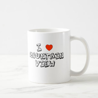 I Heart Mountain View Coffee Mug