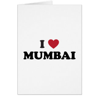 I Heart Mumbai India Card