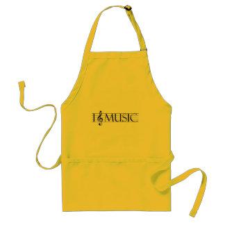 i heart music 2 standard apron