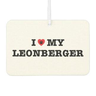 I Heart My Leonberger Car Air Freshener