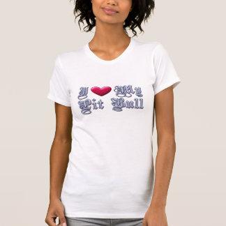 "I ""heart"" My PitBull t-shirt  ( also Anti-BSL )"