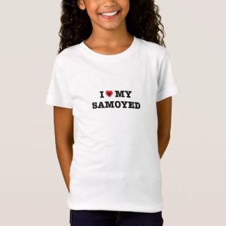 I Heart My Samoyed T-Shirt