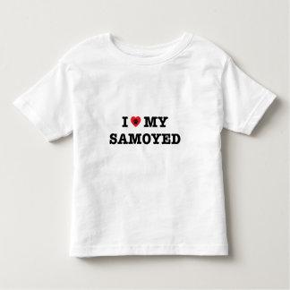 I Heart My Samoyed Toddler T-Shirt