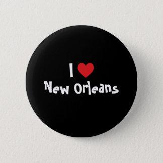 I Heart New Orleans 6 Cm Round Badge