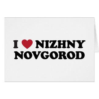 I Heart Nizhny Novgorod Russia Card