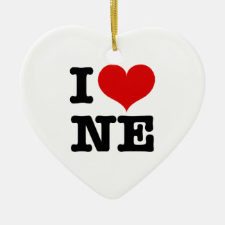 I Heart Northeast Ornament