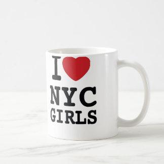 I Heart NYC Girls Coffee Mug