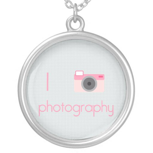 I Heart Photography Necklaces