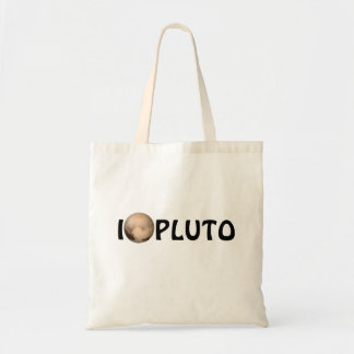 I Heart Pluto New Horizon Tote Bag
