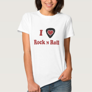 I Heart Rock n Roll Shirt