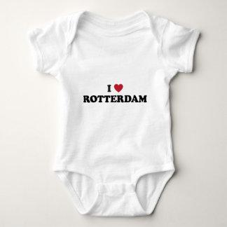 I Heart Rotterdam Netherlands Baby Bodysuit