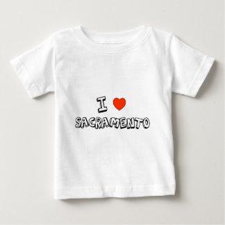 I Heart Sacramento Baby T-Shirt