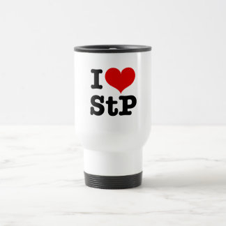 I Heart St. Paul / St. Peter Stainless Steel Travel Mug