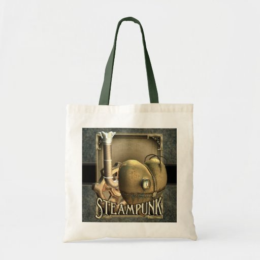 I Heart Steampunk Tote Bags