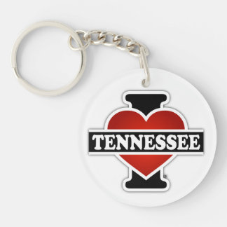 I Heart Tennessee Key Ring