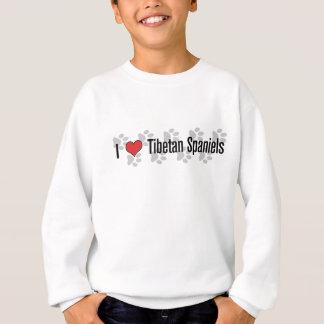 I (heart) Tibetan Spaniels Sweatshirt