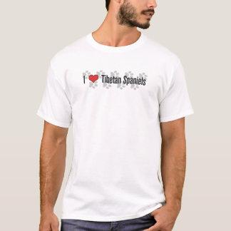 I (heart) Tibetan Spaniels T-Shirt