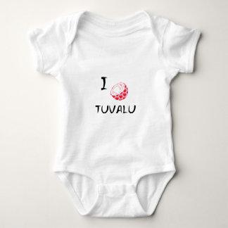 I heart Tuvalu Baby Bodysuit