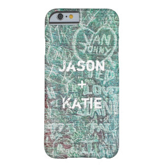 I Heart Urban Street Art Graffiti Chalk With Name Barely There iPhone 6 Case
