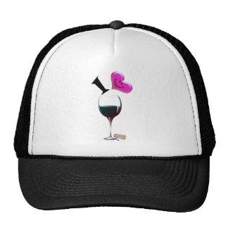 I Heart Wine Cap