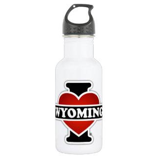 I Heart Wyoming 532 Ml Water Bottle