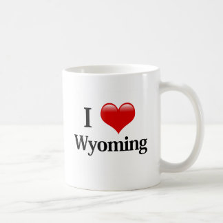 I Heart Wyoming Coffee Mug