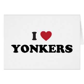 I Heart Yonkers New York Card