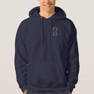 I/I Love You,I Need You White Line S Hooded Sweatshirts