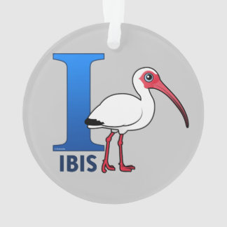 I is for Ibis Ornament