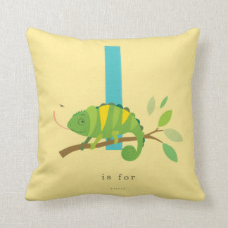 I is for... throw pillow