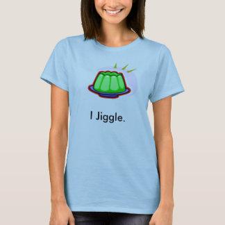I Jiggle Girl's Baby Doll Tee