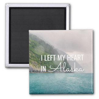 I Left My Heart -Alaska Coastal Landscape | Magnet
