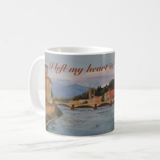 """I left my heart in Firenze"" Mug"