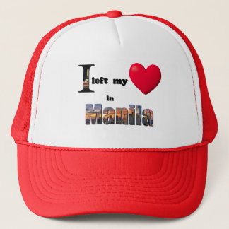I left my heart in Manila - Love Gift Couple Hat