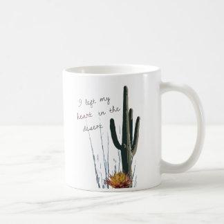 I Left My Heart in the Desert   Mug