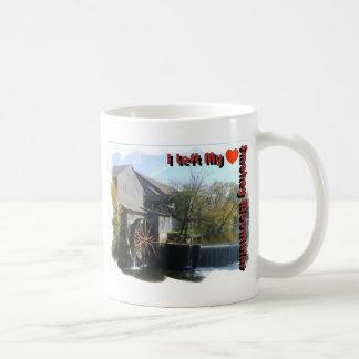 I Left my Heart in the Smokey Mountains Basic White Mug