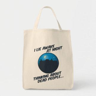 I Lie Awake At Night Tote Bag