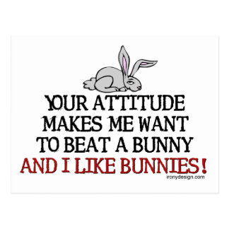 I Like Bunnies Postcard