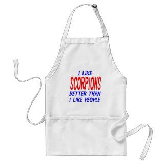I Like Scorpions Better Than I Like People Apron