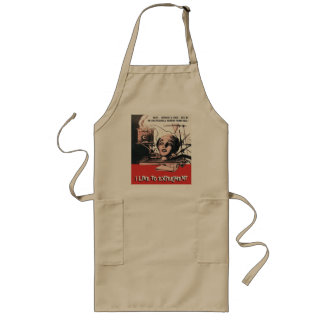 I Like To Experiment Long Apron