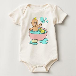 I like to play in my bath… baby bodysuit