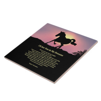 I'll See You in My Dreams Poetry Collector Tile