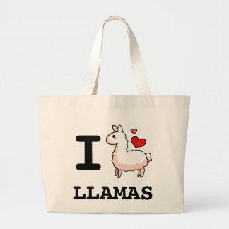 I Llama Llamas Jumbo Tote Bag