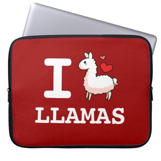 I Llama Llamas Sleeve Laptop Computer Sleeves