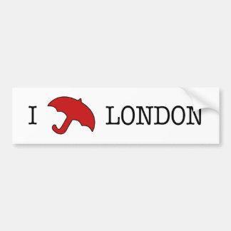 I ☂ London (Bumper Sticker)