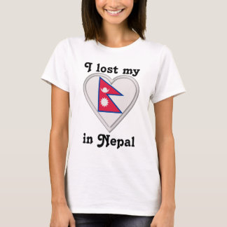 I lost my heart in Nepal T-Shirt