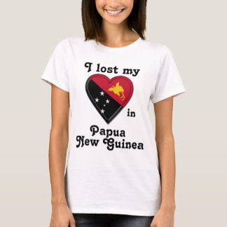 I lost my heart in Papua New Guinea T-Shirt