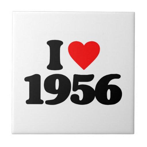 I LOVE 1956 TILES