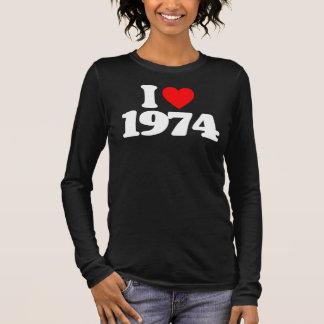 I LOVE 1974 LONG SLEEVE T-Shirt