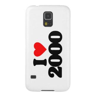 I LOVE 2000 GALAXY NEXUS CASE
